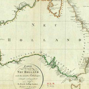 Eksploracja Nowej Holandii (Australii). 1814.