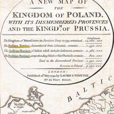 Drugi rozbiór Polski. 1793.