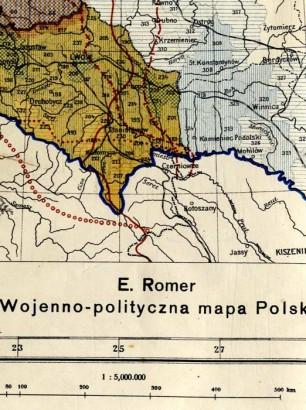 starenowemapy-pl-copyright-2014-10-01-wojenno-polityczna-mapa-polski-akt-5-listopada-1916