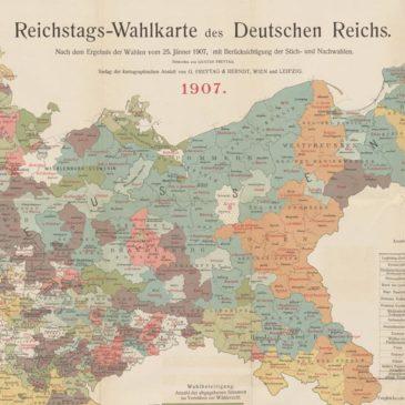 Wybory do parlamentu II Rzeszy Niemieckiej na ziemiach polskich. 1907.