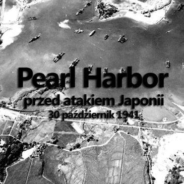 Pearl Harbor przed atakiem Japonii. 30 październik 1941.