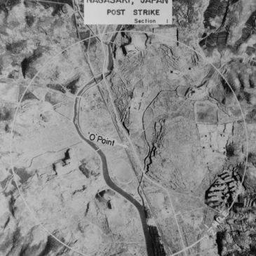 Zrzucenie bomby atomowej na Nagasaki. 9 sierpień 1945.