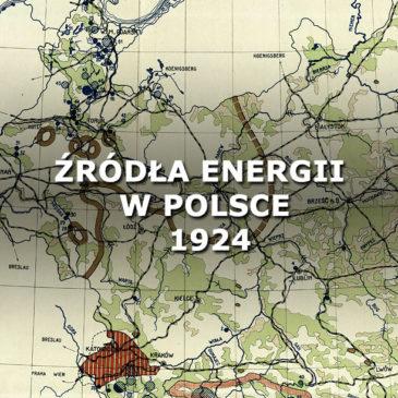 Źródła energii w Polsce. 1924.