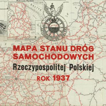 Stan dróg samochodowych w Polsce. 1937.